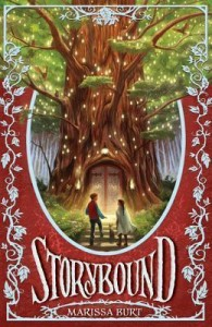 Book Cover for Storybound by Marissa Burt