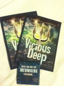 Vicious Deep by Zoraida Cordova Swag