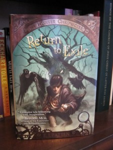 Book Cover for Return to Exile by E.J. Patten