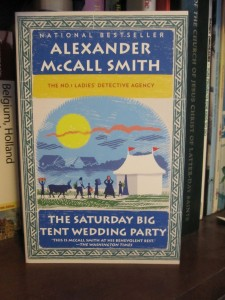Book Cover for The Saturday Big Tent Wedding Party by Alexander McCall Smith