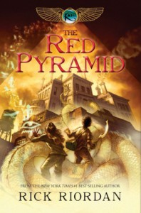 Book Cover of The Red Pyramid by Rick Riordan (The Kane Chronicles #1)