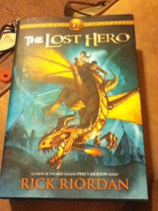 Book Cover of The Lost Hero by Rick Riordan