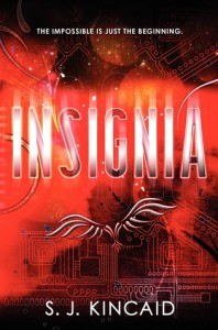 Book Cover for Insignia by S.J. Kincaid