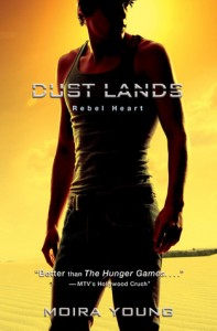 Book Cover for Rebel Hearts by Moira Young (Dust Lands #2)