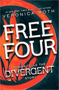 Book Cover for Free Four by Veronica Roth DIvergent