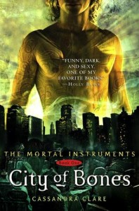 Book Cover for City of Bones by Cassandra Clare