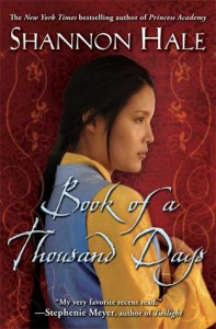 Book Cover for Book of a Thousand Days by Shannon Hale
