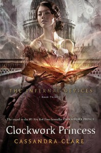 Book Cover for Clockwork Princess by Cassandra Clare Infernal Devices #3