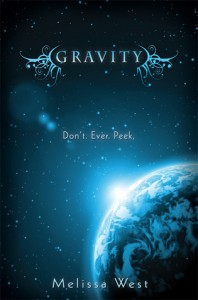 Book Cover for Gravity by Melissa West