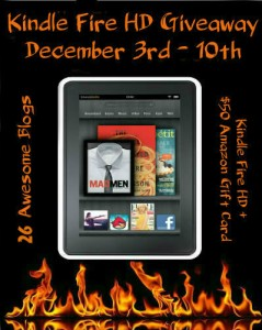 December Kindle Fire HD Giveaway