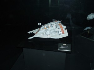 Snow Speeder from Hoth in Episode V.