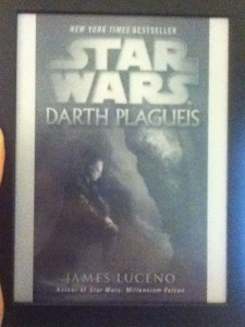 Darth Plagueis by James Lucen Kindle Cover