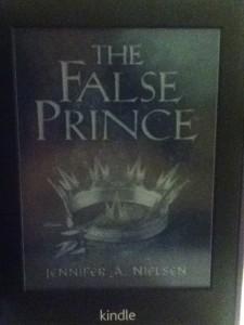 The False Prince by Jennifer A. Nielsen Kindle cover