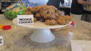 Wookie Cookies (Oatmeal Chocolate Chip cookies with coconut)