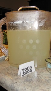 Yoda Soda (Limeade and Sprite)