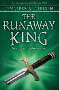Book Cover for The Runaway King by Jennifer A. Nielsen