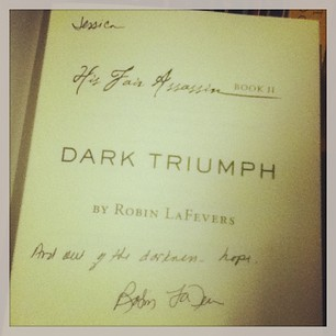 Dark Triumph signed