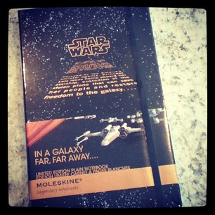 Star Wars Moleskine