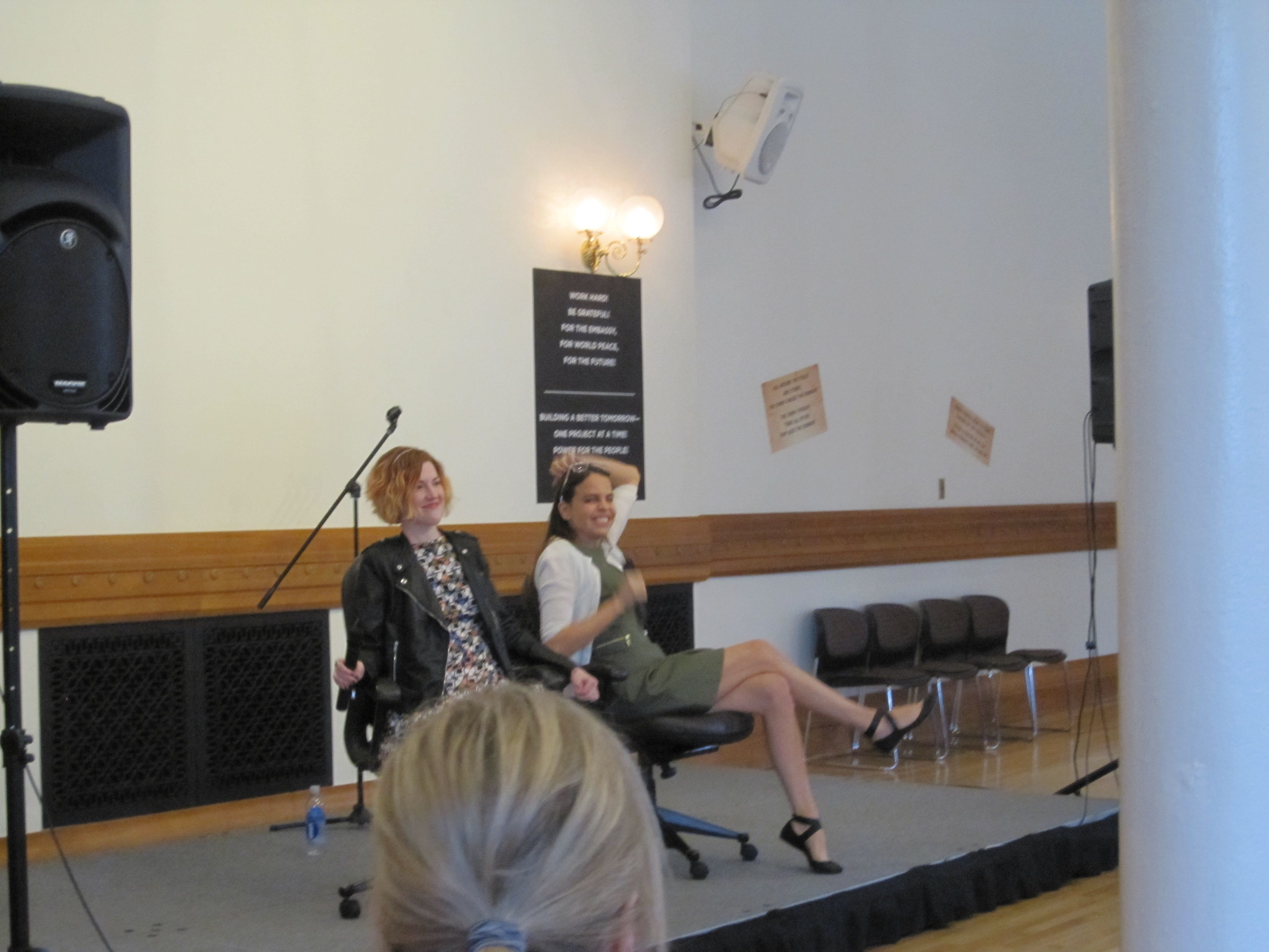 Stephanie Perkins and Margaret Stohl Book Signing