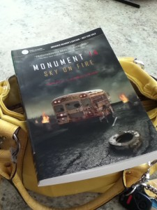 Monument 14 Sky on Fire by Emmy Laybourne ARC