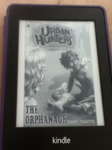 The Orphanage by Gary Taaffe Kindle Cover