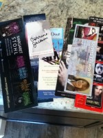 Swag from Ems Reviews Books. Thanks!!