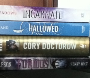 Incarnate and Hallowed are signed ARCs :)