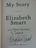 Elizabeth Smart My Story signed