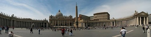 "Image Credit: ""Vatican StPeter Square"" by François Malan - Own work. Licensed under Creative Commons Attribution-Share Alike 3.0 via Wikimedia Commons - http://commons.wikimedia.org/wiki/File:Vatican_StPeter_Square.jpg#mediaviewer/File:Vatican_StPeter_Square.jpg."