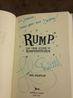 Signed by the author! :)