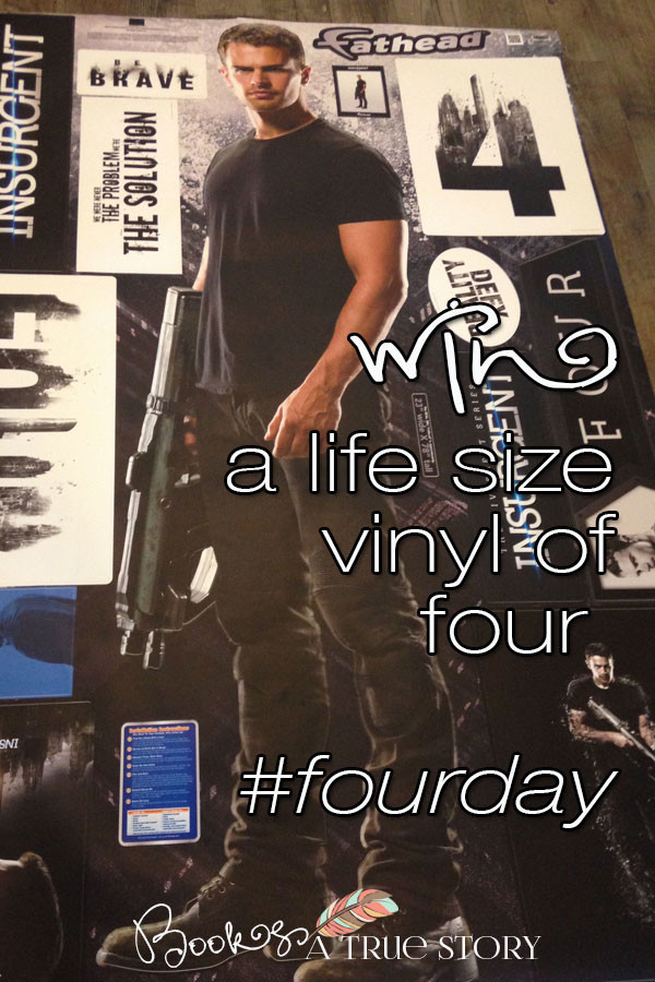 Win a Life Size Vinyl of Four for #FourDay!