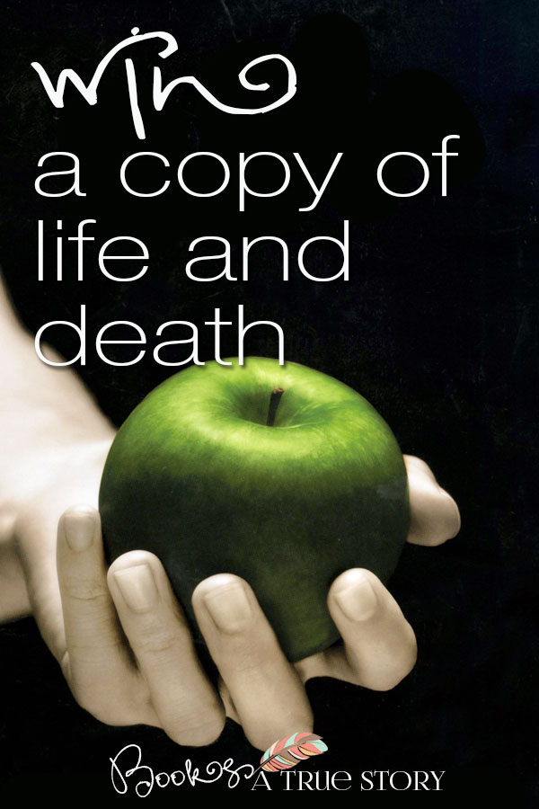 Hardcover copy of Life and Death by Stephenie Meyer