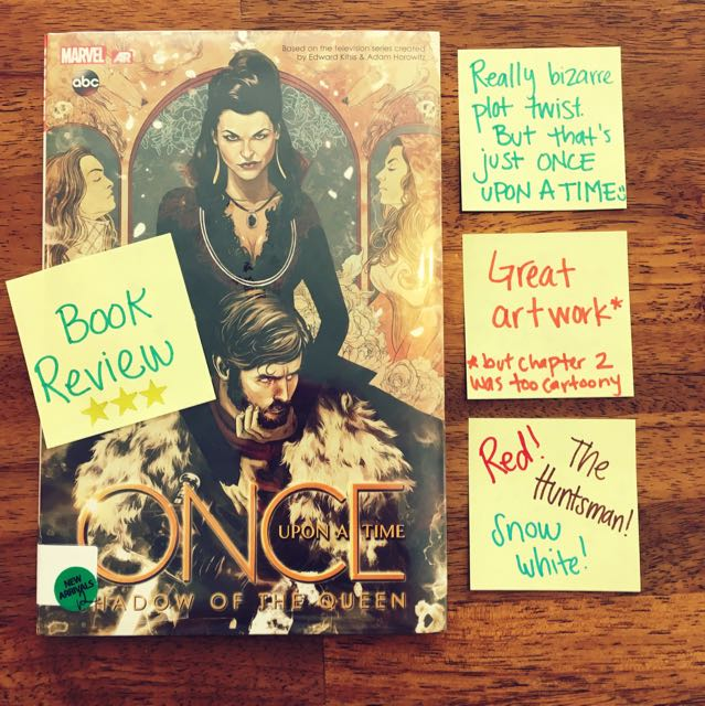 Book Review Shadow Queen Once Upon Time