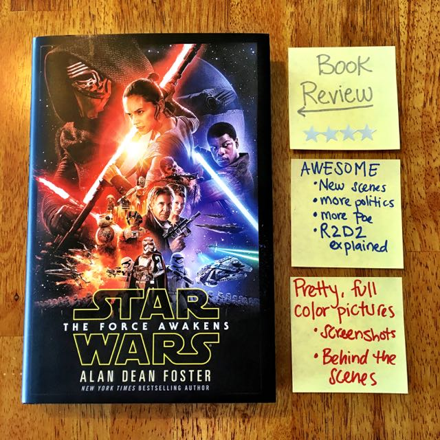 Force Awakens Episode VII Book Review