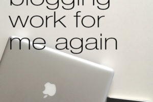 How Made Blogging Work Again