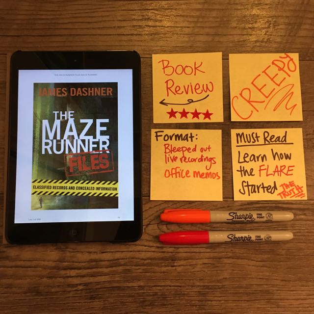 Maze Runner Files Book Review