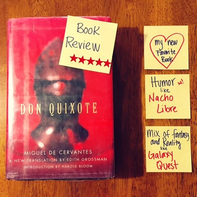 Book Review Don Quixote