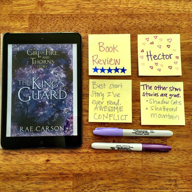 King's Guard Rae Carson Book Review