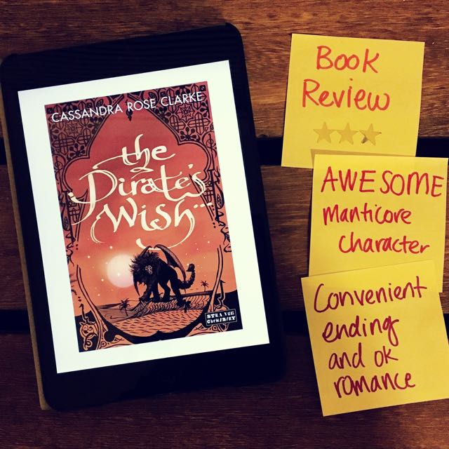 Book Review Pirate's Wish Cassandra Rose Clarke