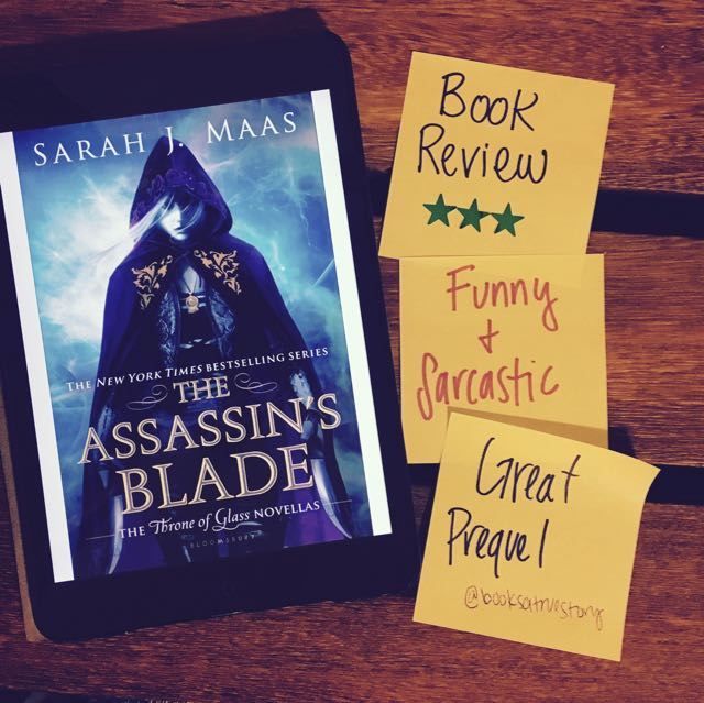 Book Review Assassin's Blade