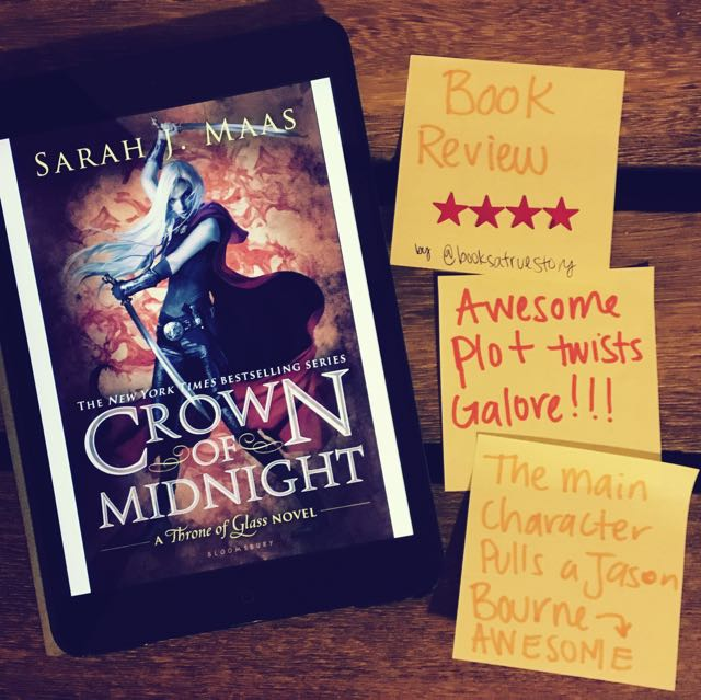 Book Review Crown of Midnight